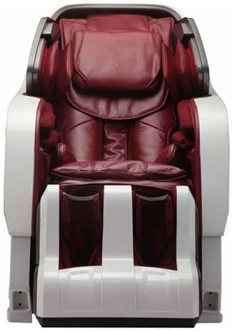 Infinity Iyashi Review White n BerryRed Front - Chair Institute