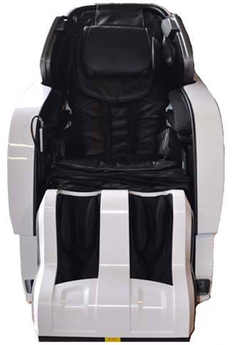Infinity Iyashi Review White n Black Front - Chair Institute