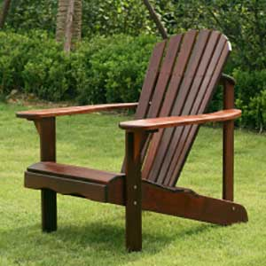An Image of Adirondack Chair for Types of Adirondack Chairs