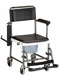 An Image of Rolling Chair for Types of Shower Chairs