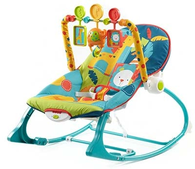 Baby rocking chair helps your baby sleep