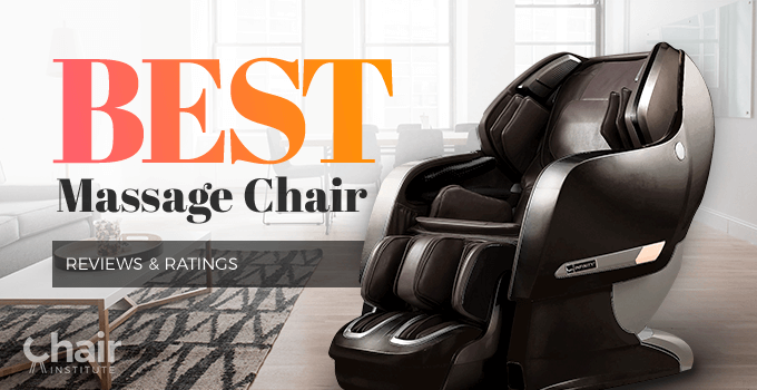 A dark massage chair nex to a window in a living room