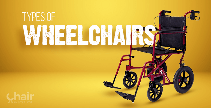 Types of Wheelchairs Banner