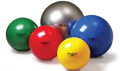 An Image of Therapeutic Exercise Ball of Ball Chairs and Exercise Balls Reviews