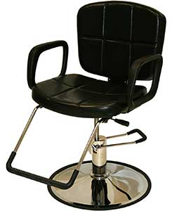 An Image of ​LCL Beauty Reclining Hydraulic All Purpose Cutting & Shampoo Barber Salon Chair