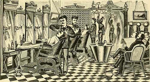 A Sample Image of History of Barber Chairs