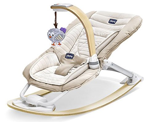 An Image of Chicco I-Feel Rocker Activity Bouncer Chairs