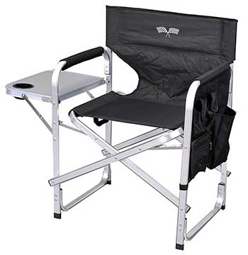 Director's Chairs Stylish Camping Full Back Folding Director's Chair - Chair Institute