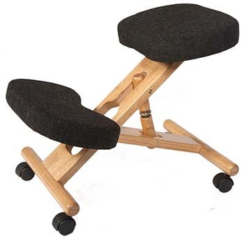 An image of Ergo Posture Kneeling Chair, Types of Kneeling Chairs