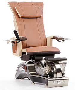 An Image of Cappuccino Variant of T4 Stellar Pedicure Chair
