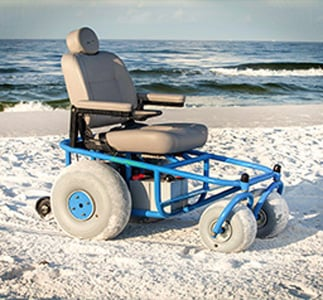 An Image of Outdoor Extreme Mobility Beach Cruiser
