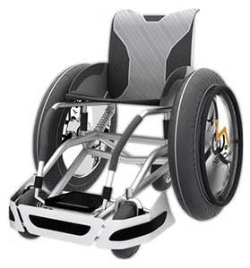 HEROes Daredevil wheelchair