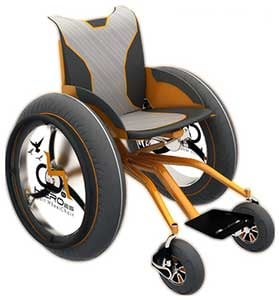HEROes Zupan wheelchair