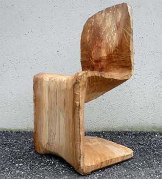 The Wooden Panton Chair