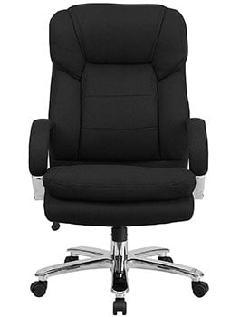 Front view of the Flash Furniture HERCULES Series 24/7 Intensive Use office chair