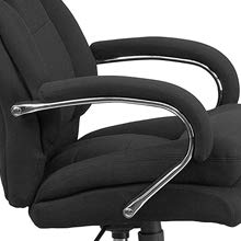 Padded armrests of the Flash Furniture HERCULES Series 24/7 Office Chair