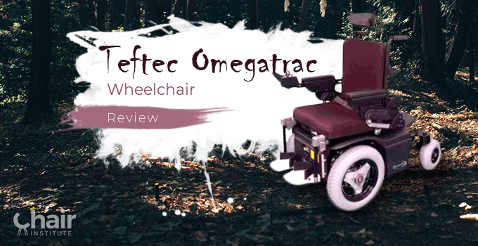 Omegatrac Wheelchair in a woody forest