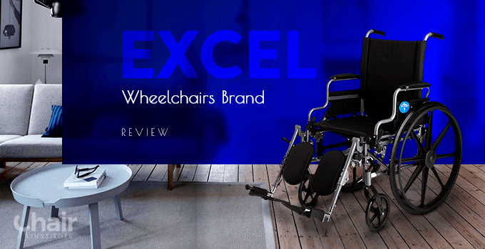 Excel wheelchair in a contemporary living room