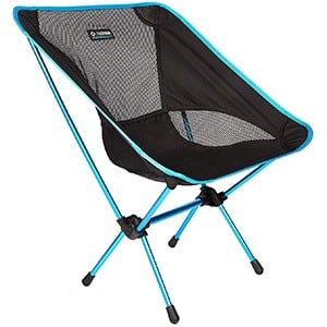 Black Blue Color, Helinox One Camp Chair, Leftfront