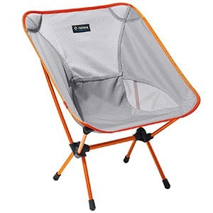 Grey Color, Helinox One Camp Chair, Leftfront