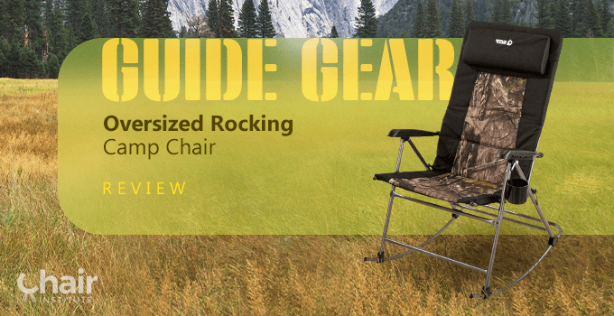 Guide Gear Oversized Rocking Camp Chair