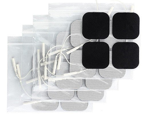 Syrtenty TENS Unit Pads, Treating Back Pain At Home, Electrode Patches